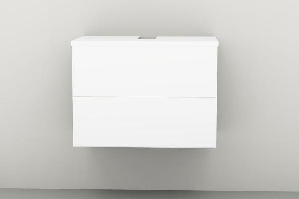 Universal-Waschbeckenunterschrank 90 cm 2 Auszüge
