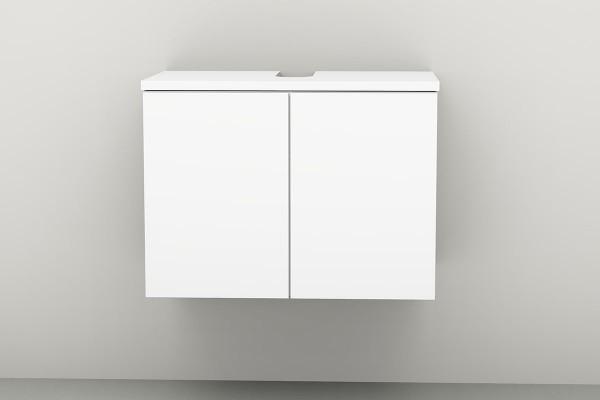 Universal-Waschbeckenunterschrank 70 cm 2 Türen