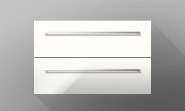 Waschtischunterschrank für Ideal Standard Connect Cube 60 cm