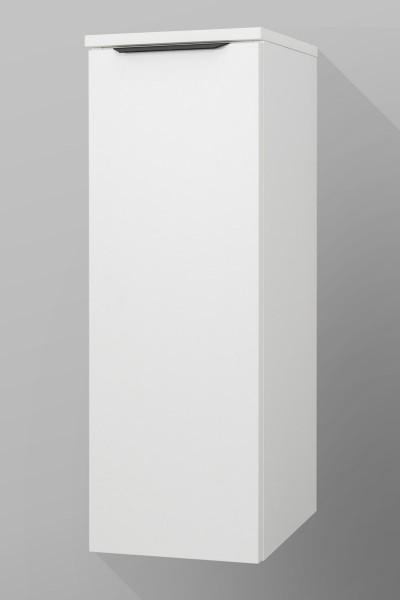 Badezimmer Midi-Schrank, 1 Tür, Seitenschrank H/B/T [87,1/30/37 cm]
