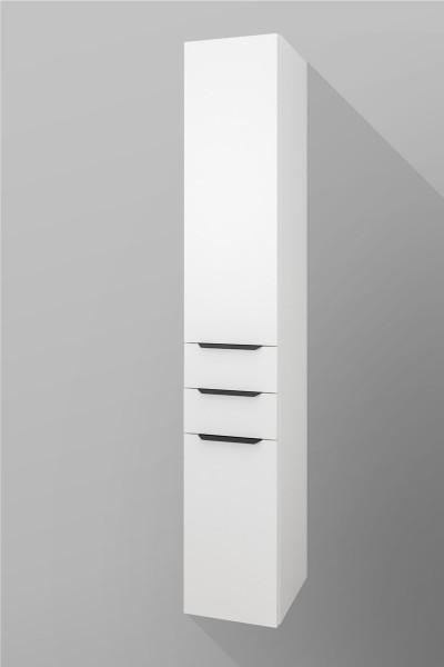 Badezimmer Hochschrank, Unten 1 Tür, 2 Schubladen, 1 Tür Oben, Seitenschrank H/B/T [180/30/37 cm]