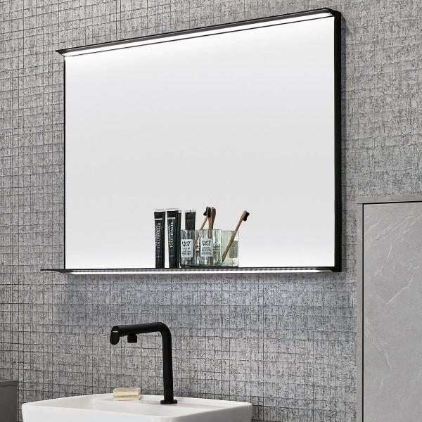 Design Lichtspiegel Scar mit Ablageboard
